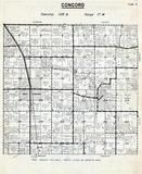 Concord Township, West Concord, Dodge County 1956